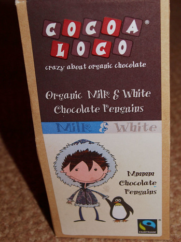 Cocoa Loco Chocolate Penguins