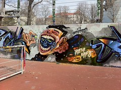 a pill to thrill (RABBIT EYE MOVEMENT) Tags: graffiti sobek kcis nychos