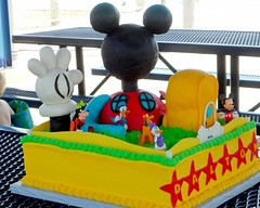 "Mickey mouse clubhouse birthday cake • <a style=""font-size:0.8em;"" href=""http://www.flickr.com/photos/60584691@N02/5524764539/"" target=""_blank"">View on Flickr</a>"