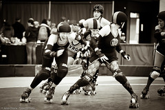 20110306.WWS_1379 (Axle Adams) Tags: sports rollerderby rollergirls skaters bremerton derby skates 2011 kitsapcountyfairgrounds wildwestshowdown