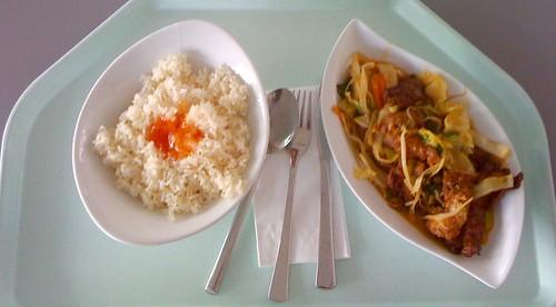 Hähnchen mit Thai-Curry & Kokosmilch