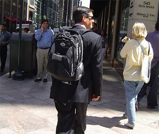 Backpack with a Suit? Do's and Dont's