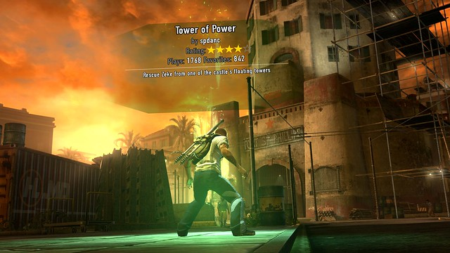 inFAMOUS 2: User Generated Missions