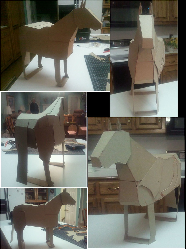 3D Chipboard Project