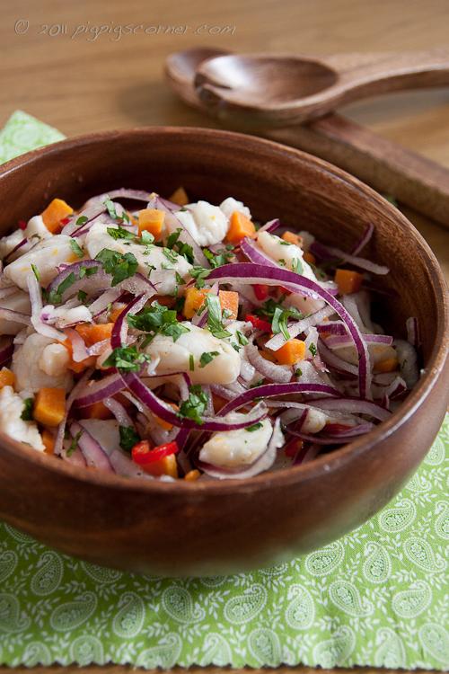 Ceviche de Pescado (Fish Ceviche) 2