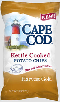 ... hitting the shelves: Harvest Gold, made with Yukon Gold potatoes