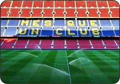 Barcelona - Camp Nou (Vanessa D.B.) Tags: barcelona travel espaa sun sport sole viaggi barcellona spagna miscelanea
