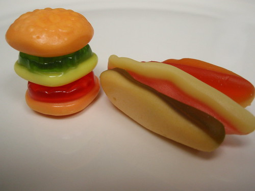 gummi burger and hot dog (2)