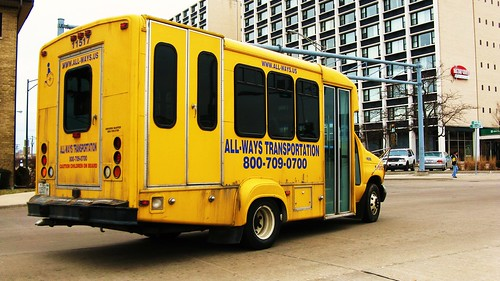 All Ways Transportation Company Ford paratransit bus. Chicago Illinois USA. March 2011. by Eddie from Chicago