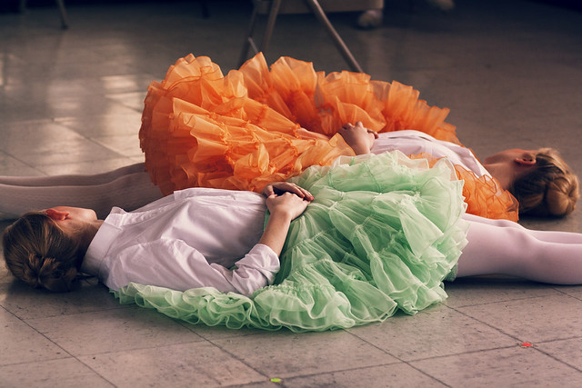 Fluffy skirts
