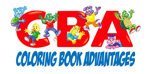"""Coloring Book Advantages"" :: Company logo (( 2011 ))"