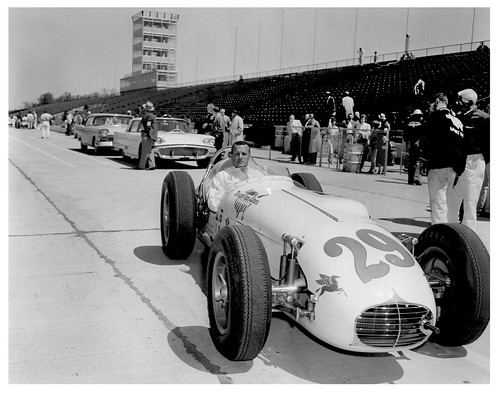 A.J. Foyt's 1958 Indianapolis 500 Rookie Year