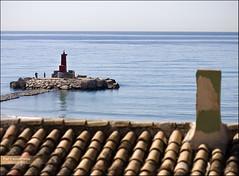 Far i ximeneia ( alfanhu) Tags: roof sea chimney lighthouse faro mar mediterraneo f18 tejado far teulada chimenea canon50mm mediterrnia ximeneia