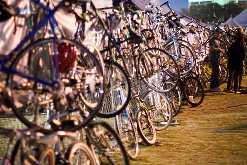 bikes and bikes and bikes and bikes