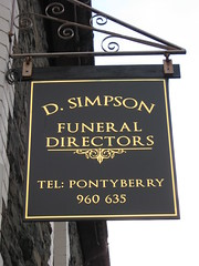 Simpsons Funeral Directors (Watt_Dabney) Tags: stella sky set wales gavin jones tv stacey funeral fim welsh ruth tidy directors llanbradach pontyberry