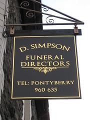 Simpsons Funeral Directors (Watt_Dabney) Tags: stella sky set wales gavin jones tv stacey funeral fim welsh ruth tidy directors llanbradach pontyberry