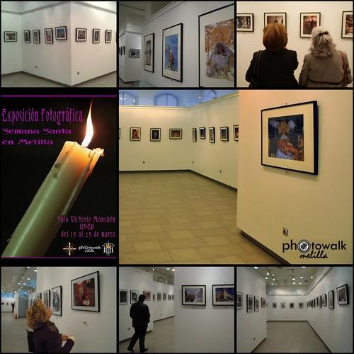 Exposición de fotografias de Semana Snata de Photowalk