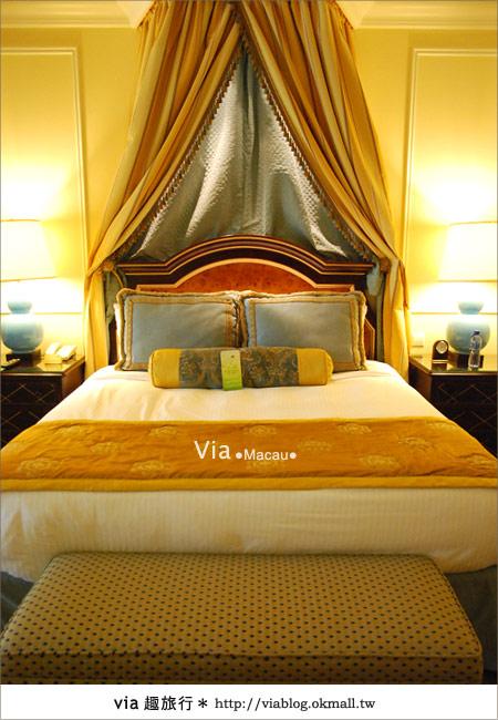 【澳門住宿】澳門威尼斯人酒店~享受奢華的住宿風格!18