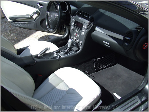 Mercedes SLK detallado interior-21