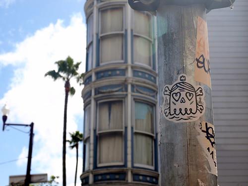 Straßenkunst in SF