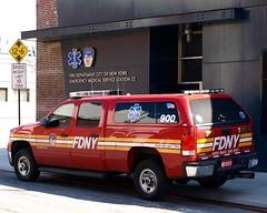 EMS32 FDNY EMS Battalion 32 Station House, Brooklyn, New York City (jag9889) Tags: county city nyc house ny new