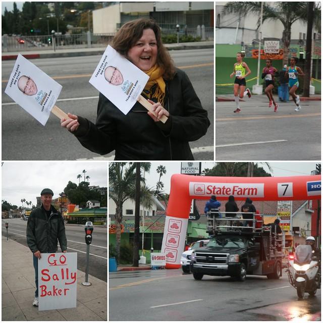 LA Marathon 2011 Mile 7