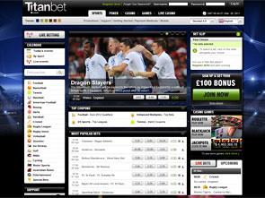 Titan Bet Sportsbook Home