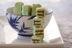 Homemade Green Tea Kit Kat Bars