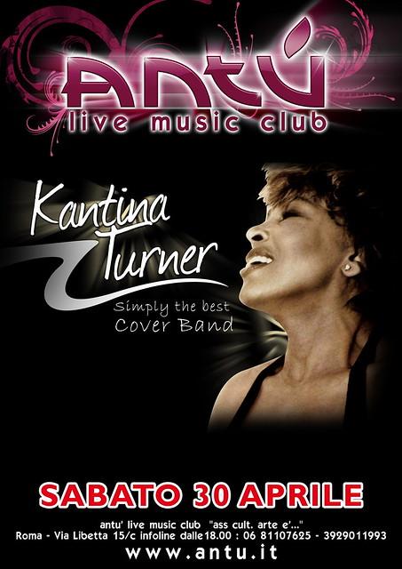 Antu Musica Live Kantina turner by antueco