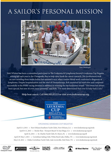 Leukemia Cup Regatta Ad