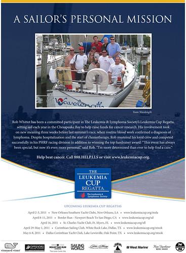 Leukemia Cup Regatta Ad