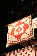 Infinite Variety (equisgarcia) Tags: nyc red white art america design quilt folk variety infinite