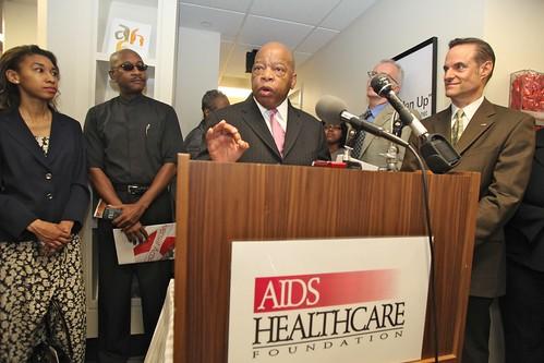 AHF Blair Underwood Healthcare Center Grand Opening