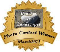 March 2011 Beaches&LandscapesPhotoContestAward