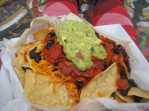 takeaway nachos