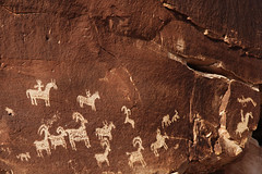 Wolfe Ranch Petroglyphs (mcmillend) Tags: utah archesnationalpark delicatearchhike march2011