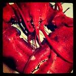 lobster dinner - instagram