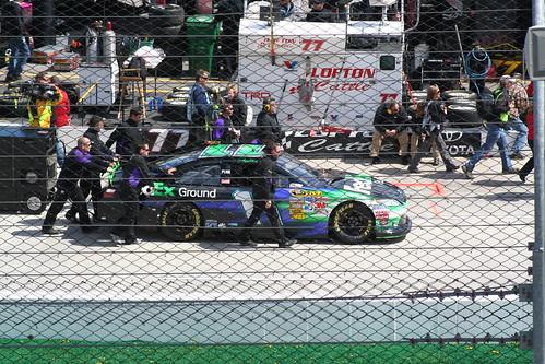 Denny Hamlin Car. Denny Hamlin#39;s #11 FedEx car