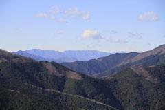 堂所山の山頂からの風景