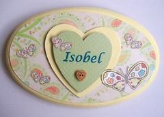 Custom name sign (art angel 1) Tags: door girl sunshine sign yellow butterfly pastel name butterflies custom commission personalized personalised buttonwoodwoodenhonedecorshabbychicfeminineheartlovedecorationornamentpapercollagemixedmediaoriginalhandmadecraft