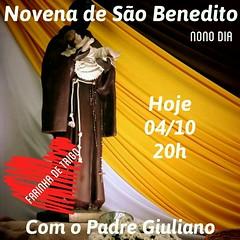 10_out 2016 FestaPadroeiro 9DiaNovena (Paroquia So Benedito/Bauru) Tags: novena s benedito 2106 matriz giulianoalamino padre