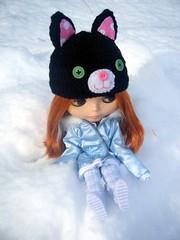 Blythe loves her hat