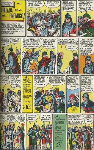 015-El Guerrero del antifaz nº 11 edicion en color-1ª pagina