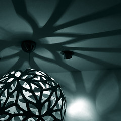 big spider (henk hessel photography) Tags: light shadow lamp lines shop design utrecht curves