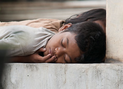 Uneasy Sleep (ROSS HONG KONG) Tags: boy sleeping girl children indonesia child sister brother sleep homeless poor jakarta sewage sewer thebestofday gnneniyisi mygearandme dwcffchild