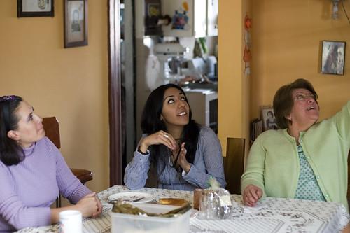 Sis, Zury, Mom