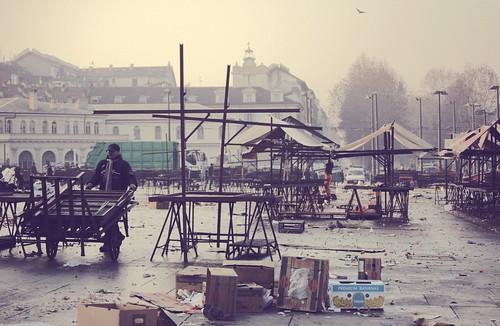 Porta Palazzo dopo il mercato / Porta Pa by Giampaolo Squarcina, on Flickr