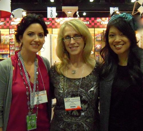 Alisa, Pam & me
