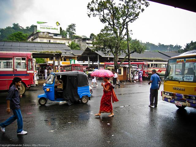 Автовокзал в Канди