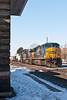 CSX 5105 in Cold Fostoria